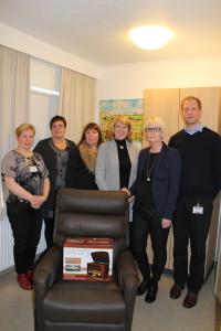 Helga Atladóttir, Sigurlín Gunnarsdóttir, Soffía Ómarsdóttir, Svanhildur Thorstensen, Ellen Ólafsdóttir og Kjartan Kjartansson